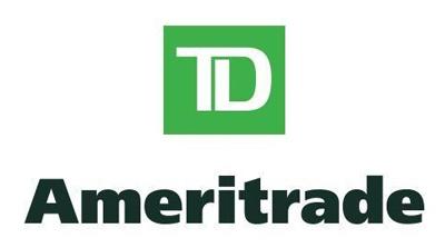 TD Ameritrade Logo Linking to Client Login